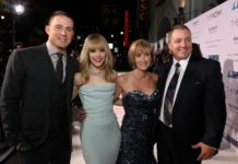 THE-VOW-Channing-Tatum-Rachel-McAdams-Kim-Carpenter-Krickitt-Carpenter - Sony Premiere